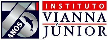 Instituto Vianna Júnior 75 anos logo