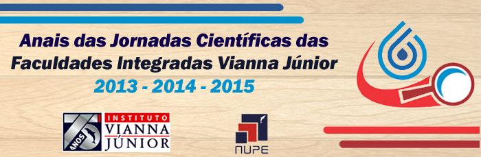 Anais das Jornadas Científicas Faculdades Vianna Jr