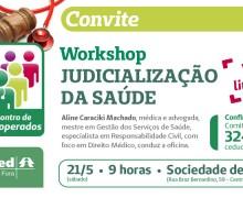 Cooperados da Unimed debatem judicialização da saúde