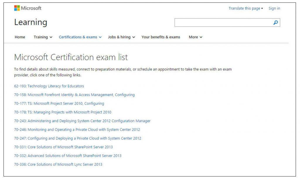 Certificação Microsoft Pearson Vue Vianna Jr passo 3