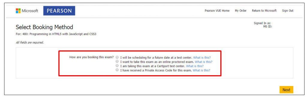 Certificação Microsoft Pearson Vue Vianna Jr passo 6