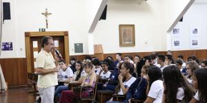 ALUNOS PARTICIPAM DE PALESTRA SOBRE A CÂMARA MIRIM