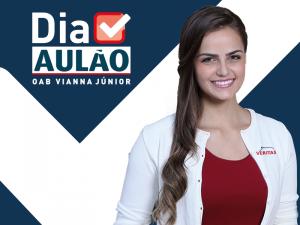 Aula do curso preparatório OAB presencial do Veritas, Vianna Junior