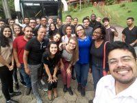 Alunos e professores em visita técnica a AcelorMittal