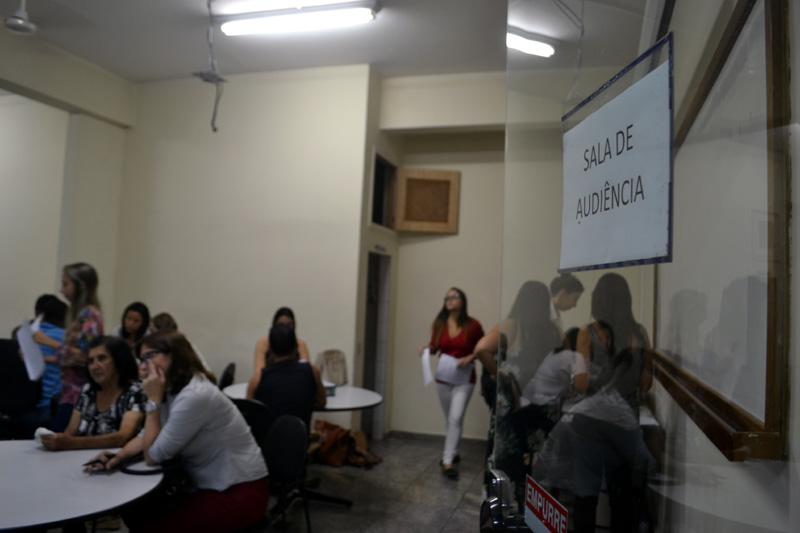 Sala de audiência para a conciliação DPVAT
