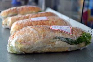 Sanduíche natural cantina Viannense