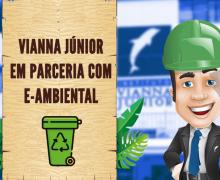 Instituto Vianna Júnior fecha parceria com E-Ambiental