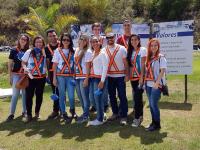 Visita técnica, alunos do 1º e 2º período de Gestão Ambiental
