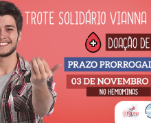 TROTE SOLIDÁRIO VIANNA JÚNIOR FOI PRORROGADO