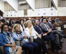 ALUNOS PARTICIPAM DO LANÇAMENTO DA COLUNA SUBSTRACTUM