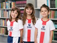 Três estudantes do Colégio Vianna que possuem seguro escolar