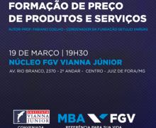 PROFESSOR DA FGV REALIZA LANÇAMENTO DE SEU LIVRO NA FGV JUIZ DE FORA